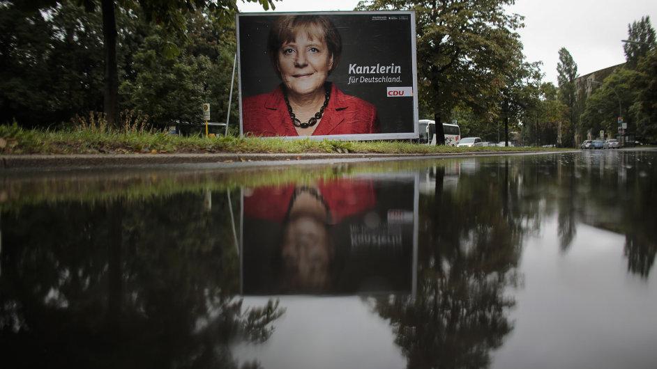 Kampaň Angely Merkelové a její CDU