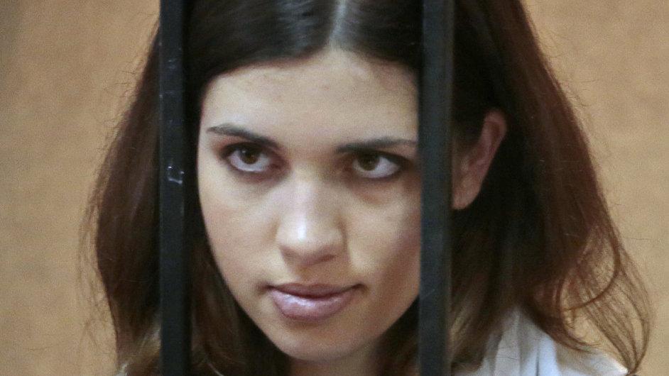 Punkerka z Pussy Riot Naděžda Tolokonnikovová