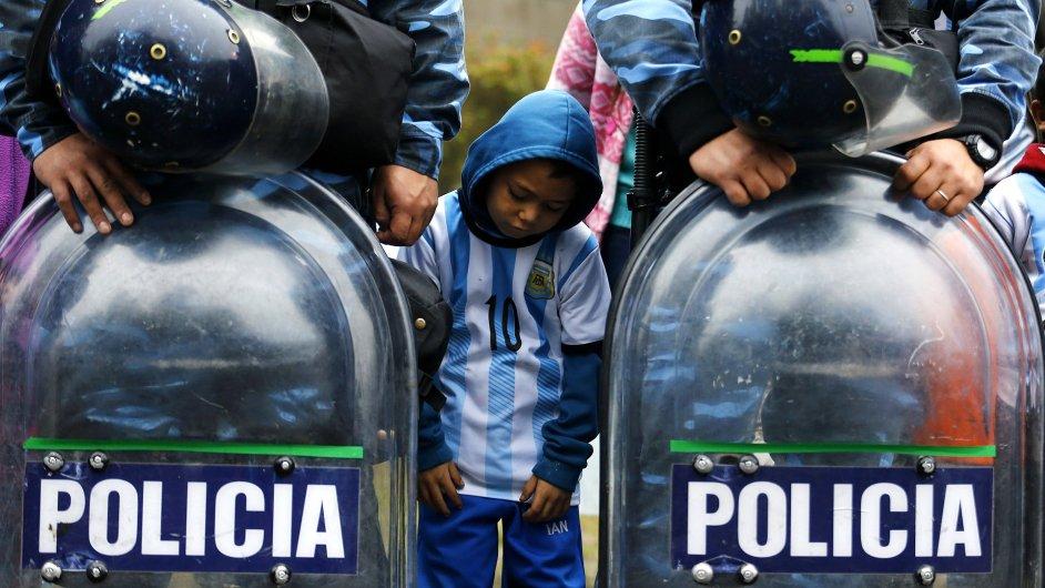 Argentinci nesli porážku na mistrovství světa ve fotbale těžce.