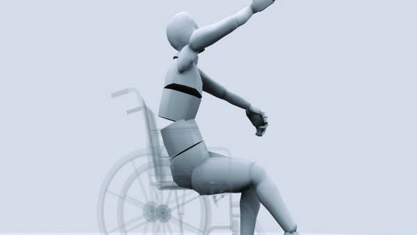 Člověk s postižením, (ilustrativní foto).