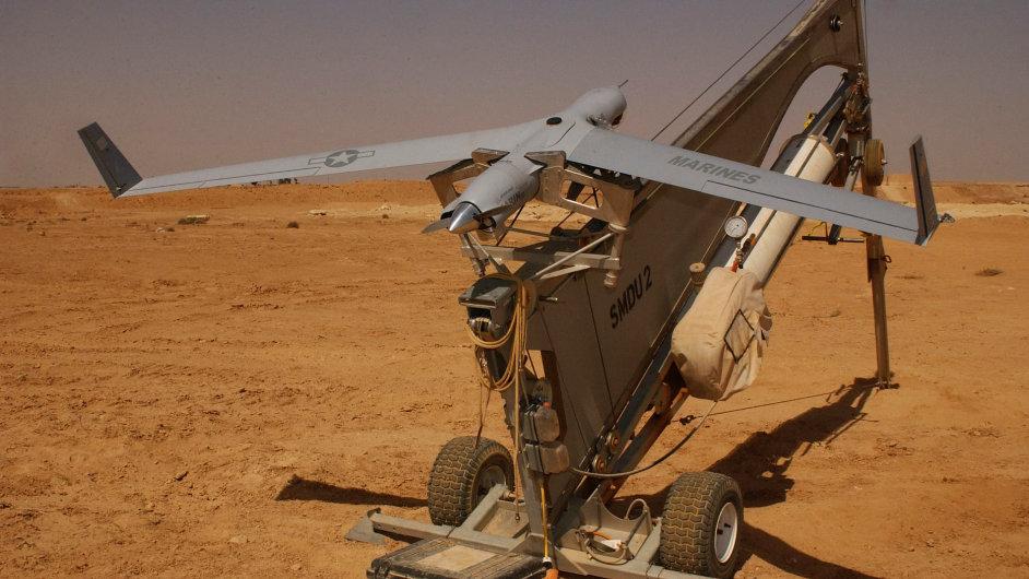 Americké letadlo ScanEagle, jehož modifikací íránský bezpilotní stroj zřejmě je.