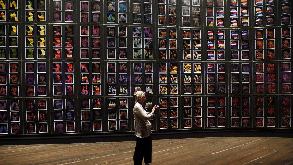 Snímky z muzea v Tasmánii
