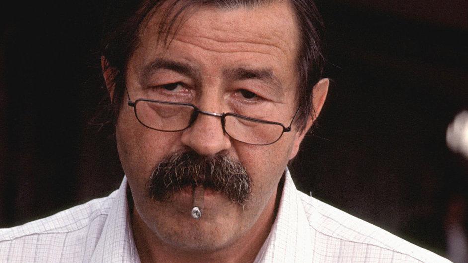 Günter Grass na snímku z roku 1984.