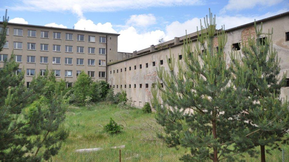 Rozsáhlý nacistický rekreační komplex Prora na baltském ostrově Rujana měl podle plánů stavitelů sloužit k ubytování 20 000 turistů.