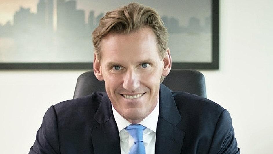 Jochen Thewes, generální ředitel společnosti DB Schenker