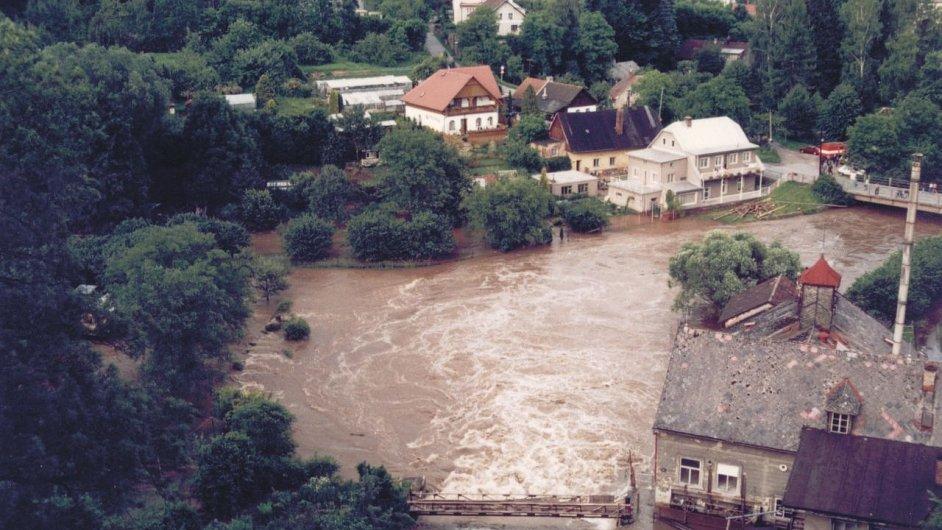 Povodně 1997 Nové Město nad Metují