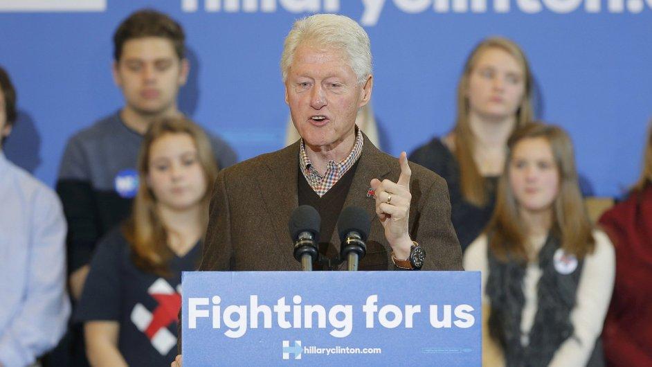 Bill Clinton, Hillary Clintonová, prezidentské volby