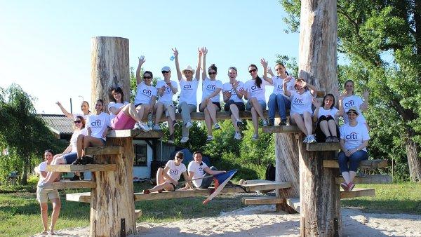 Zaměstnanci Citibank se každoročně zúčastňuje celosvětového dne dobrovolnictví