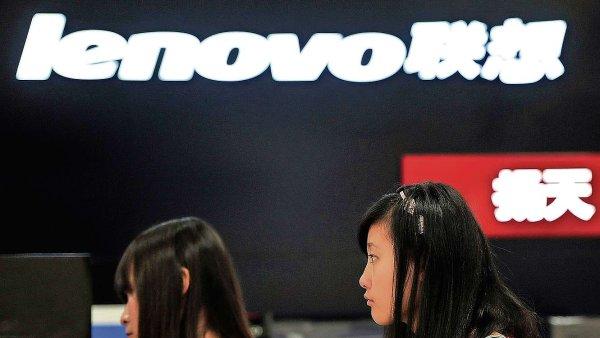 Lenovo chce zabránit propadu rozšířením svých aktivit mimo pevninskou Čínu - Ilustrační foto.