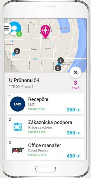 Aplikace Pr�ce za rohem