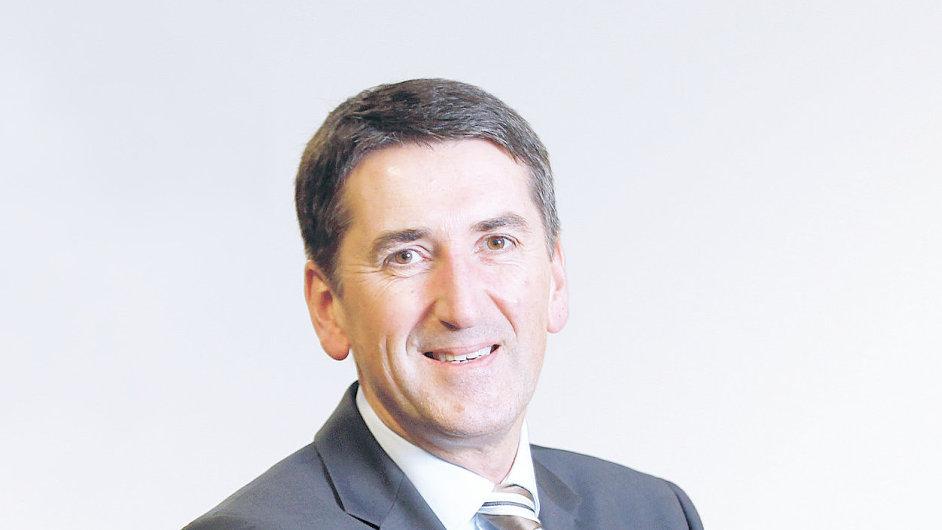 Peter Gleissner, obchodní ředitel společnosti Intel pro region EU v rámci EMEA