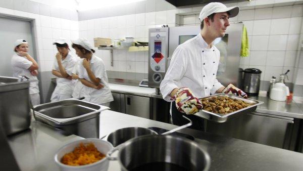 Nejvíce uprchlíků v Německu pracuje v pohostinství – ilustrační foto.