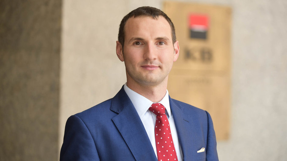 Vedoucí ekonom Komerční banky Viktor Zeisel