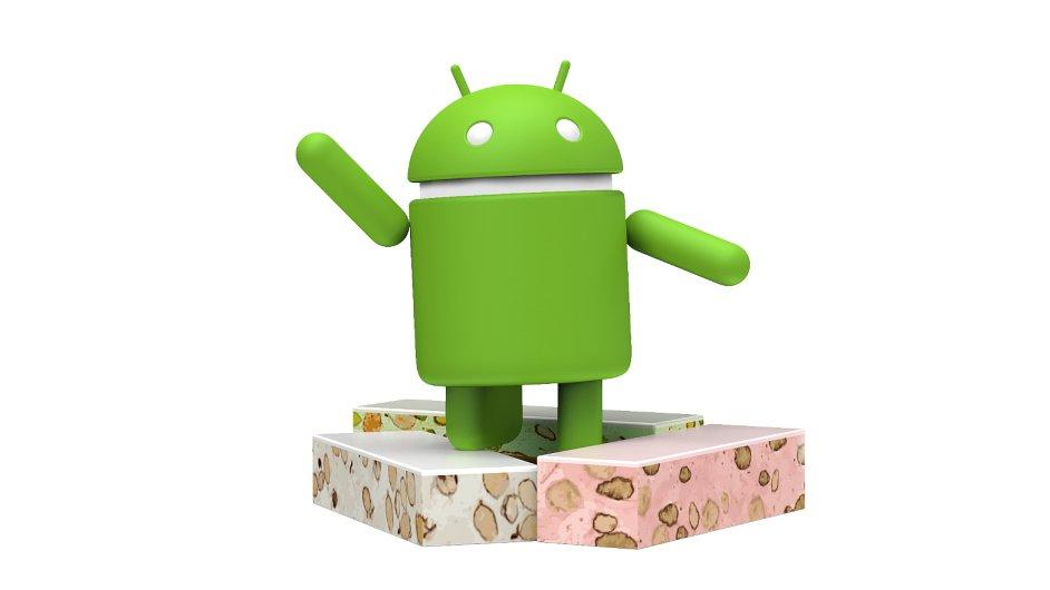 Maskot operačního systému Android pro verzi 7.0