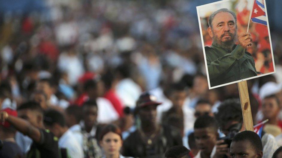 Fidel Castro, Kuba, smrt