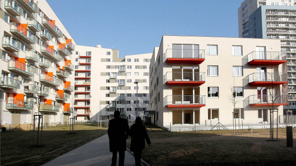 Ceny bytů rostou rychleji než ceny rodinných domů a pozemků - Ilustrační foto.