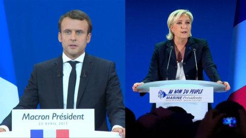 Každý ze dvou zbývajících kandidátů na francouzského prezidenta, Emmanuel Macron i Marine Le Penová, shodně vyzývají voliče, že jsou vhodnou volbou pro francouzské vlastence.