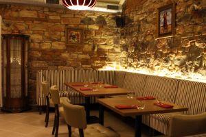 Interiér Restaurantu Sova.