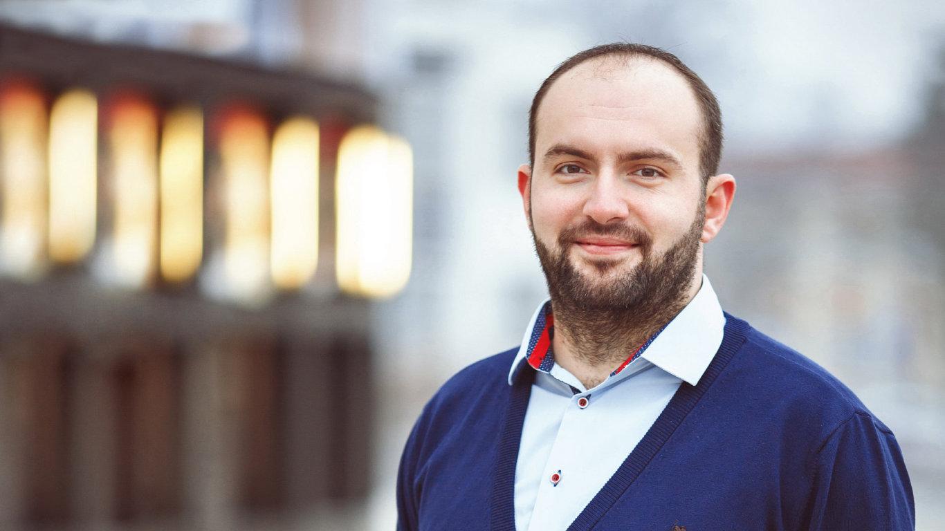 Miroslav Michalko, ředitel firmy Zaslat.cz