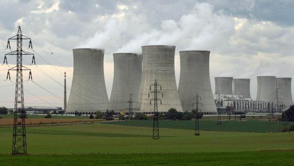 Národní akční plán počítá se stavbou nového jaderného bloku v Dukovanech.