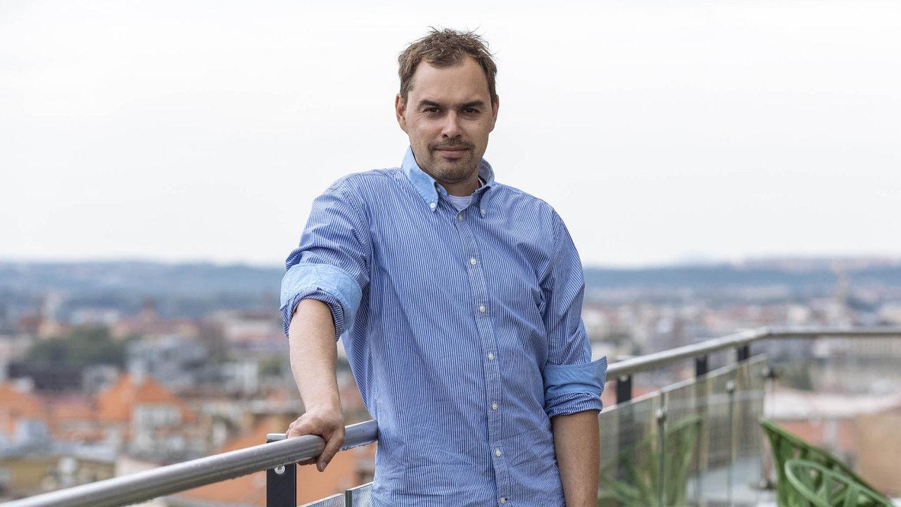 Kuchař a podnikatel Filip Sajler provozuje síť 13 firemních kantýn pod značkou Perfect Canteen.