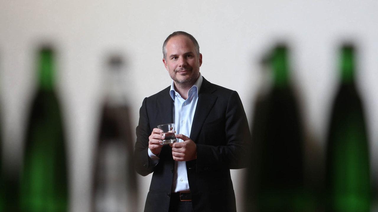 Majitel společnosti Karlovarské minerální vody Alessandro Pasquale