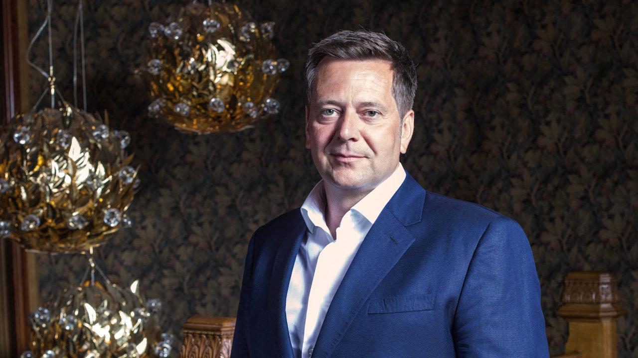 Podnikatel ifilantrop: Se jměním odhadovaným na2,5 miliardy korun se Igor Fait podle Forbesu řadí k70 nejbohatším Čechům. Vedle byznysu se aktivně věnuje icharitě.