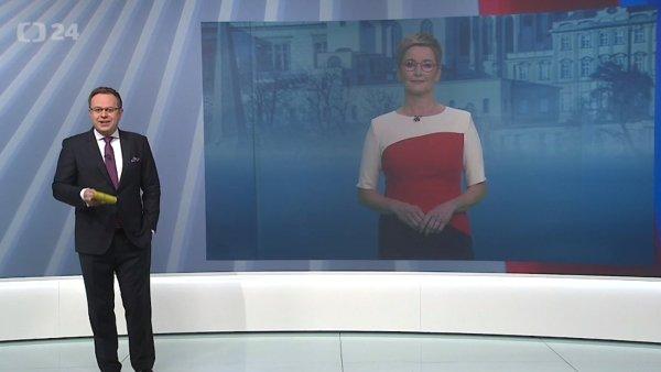 Volebním vysíláním České televize už tradičně provázeli Václav Moravec a Marcela Augustová