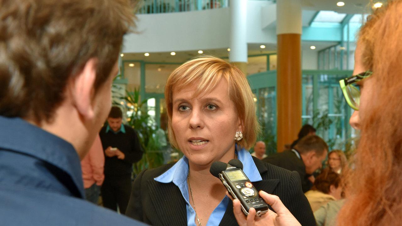 Jana Vildumetzová (ANO).