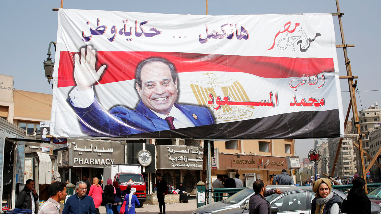 Egypt Sísí prezident volby