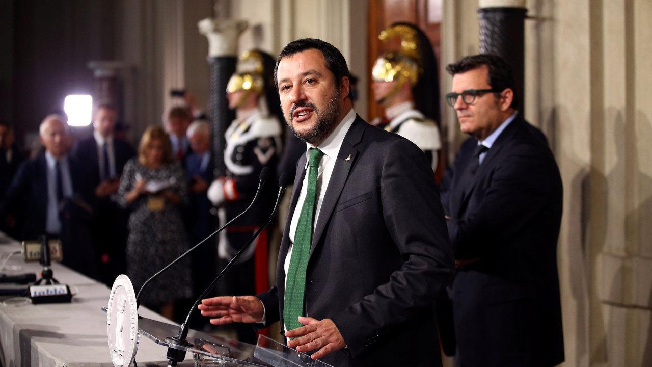 Matteo Salvini, lídr Ligy.