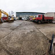 Developer Panattoni chystá revitalizaci chátrajícího průmyslového areálu vChomutově.