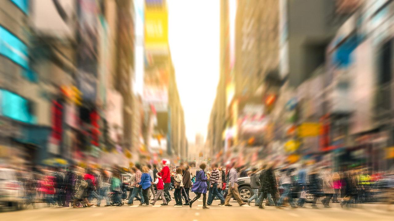 lidé, dav
