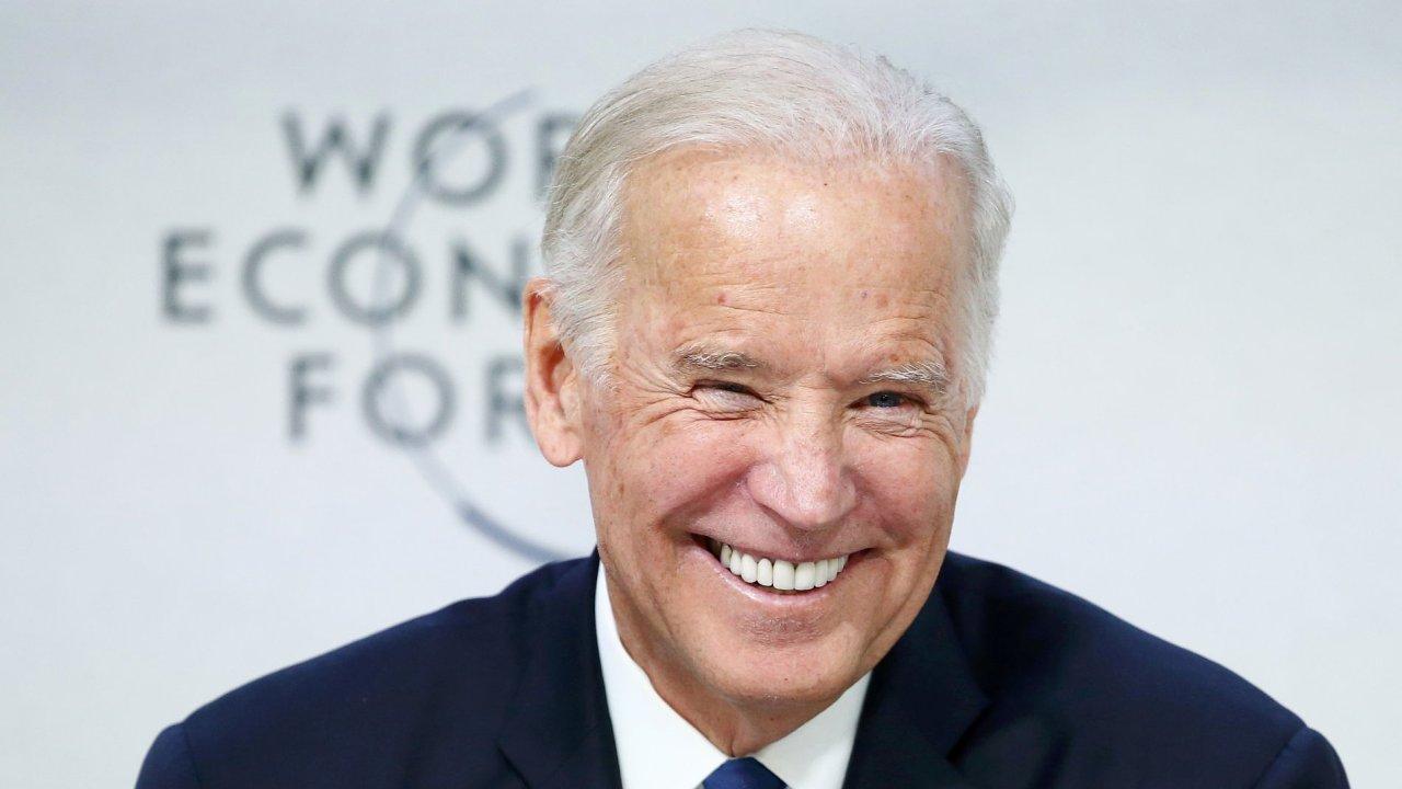 Na davoské fórum přijel i americký viceprezident Joe Biden.
