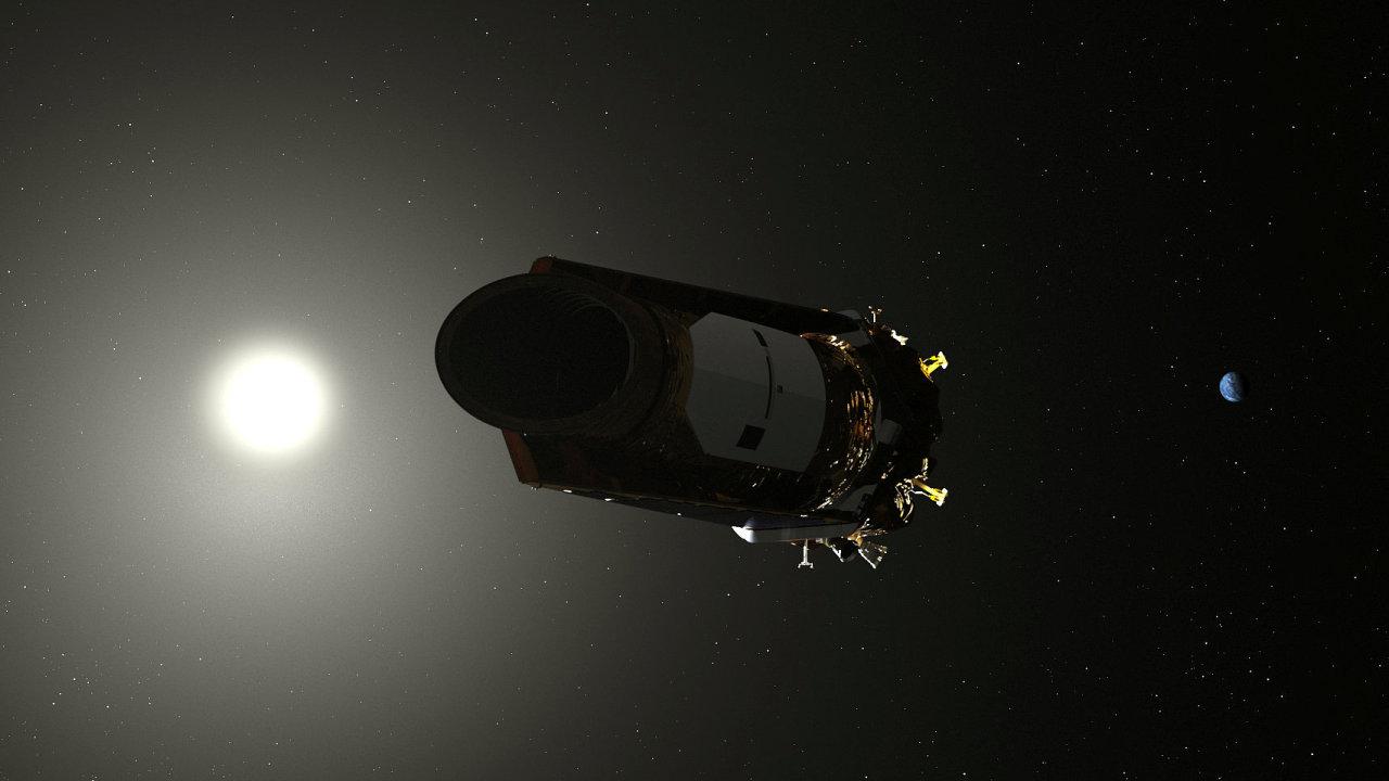 Kepler se nenacházel na oběžné dráze Země, ale létal kolem Slunce, tak aby jeden jeho oblet trval 372 dní. Díky tomu ze od Země pomalu vzdaloval.