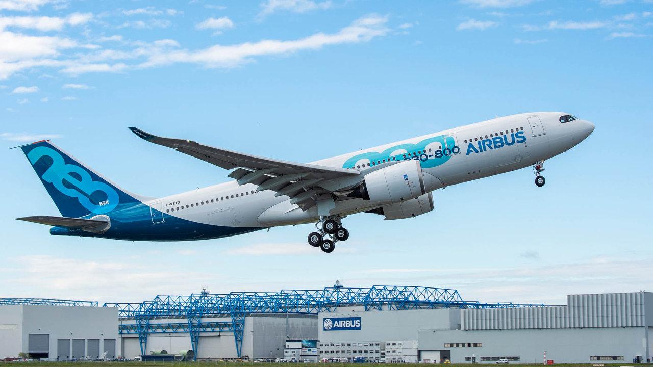 První start letounu Airbus A330-800