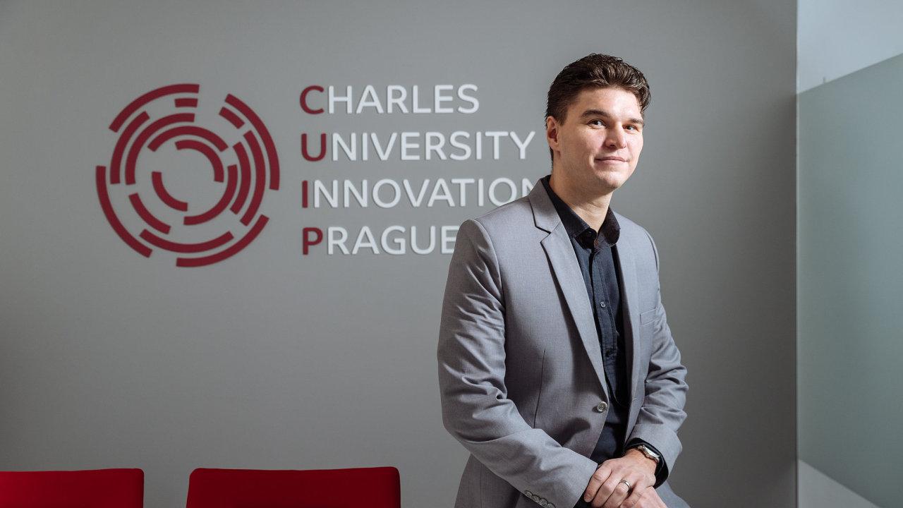 Ředitel CUIP, dceřiné firmy Univerzity Karlovy, Otomar Sláma.