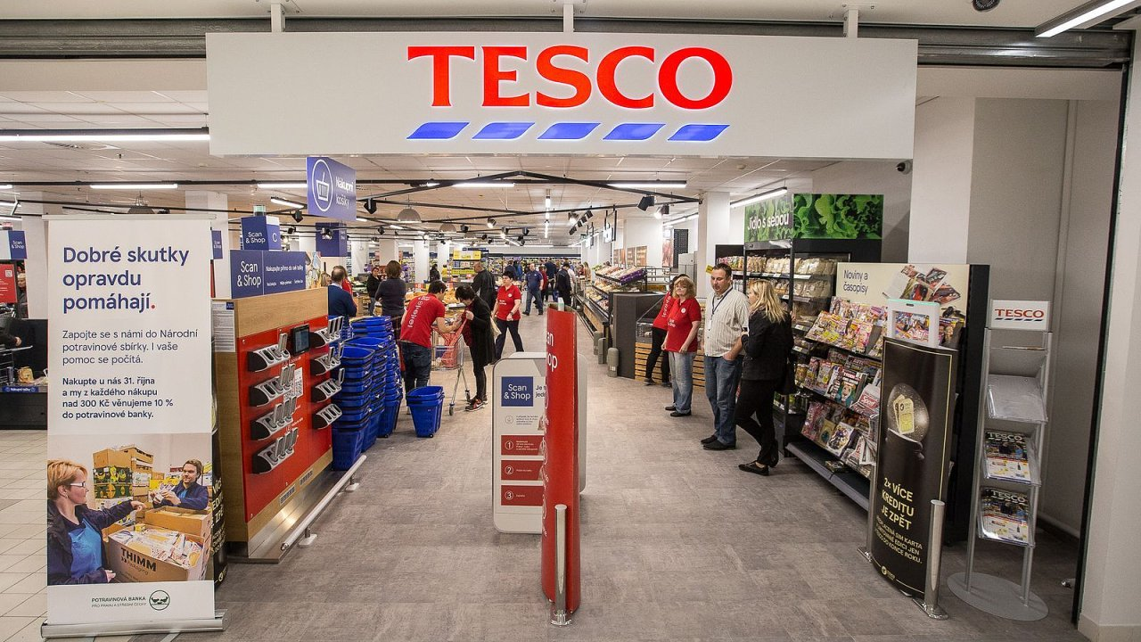 Čapni a jdi: Tesco má nový typ prodejny, sousedský obchod má uspokojit rychlé nákupy