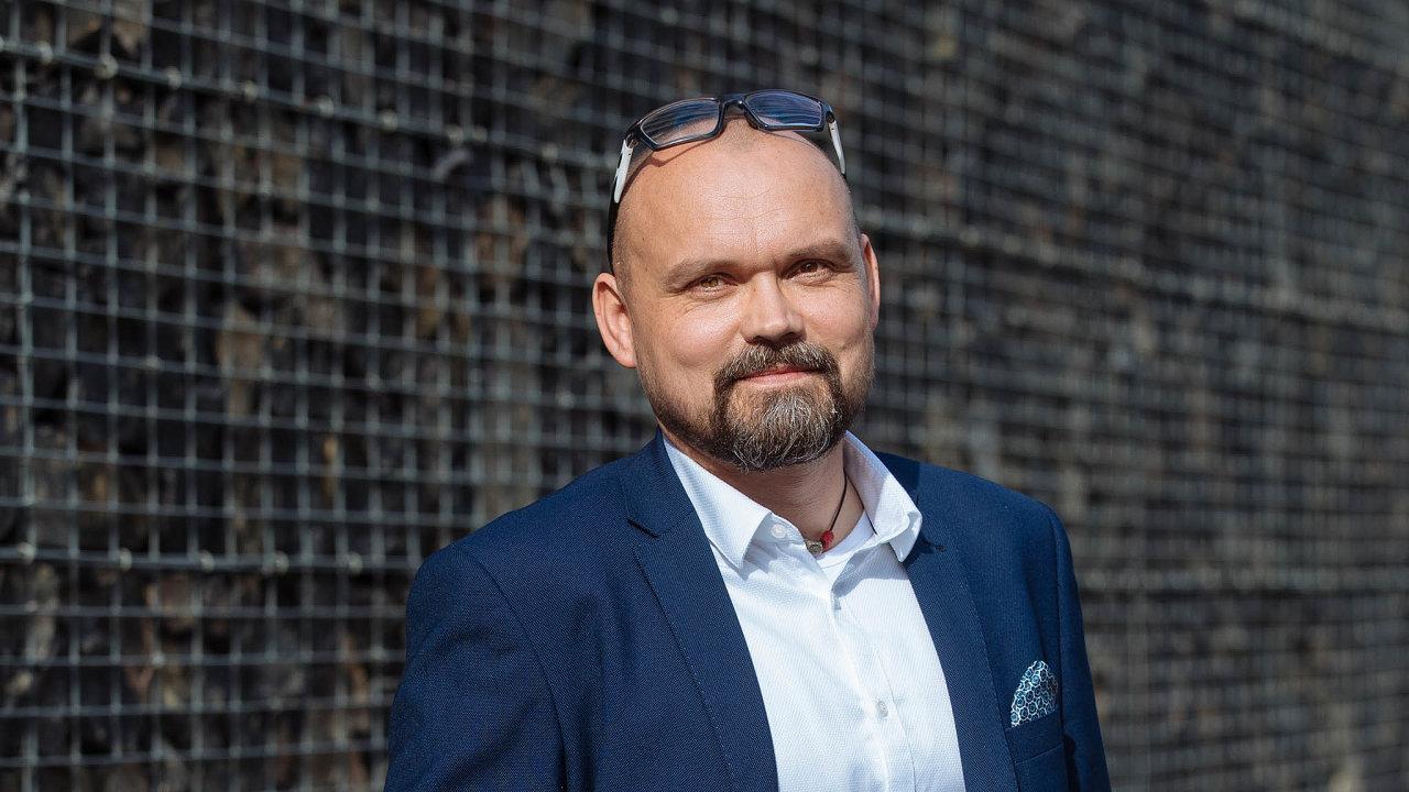 Nový šéf logistiky České pošty Petr Cinkl.