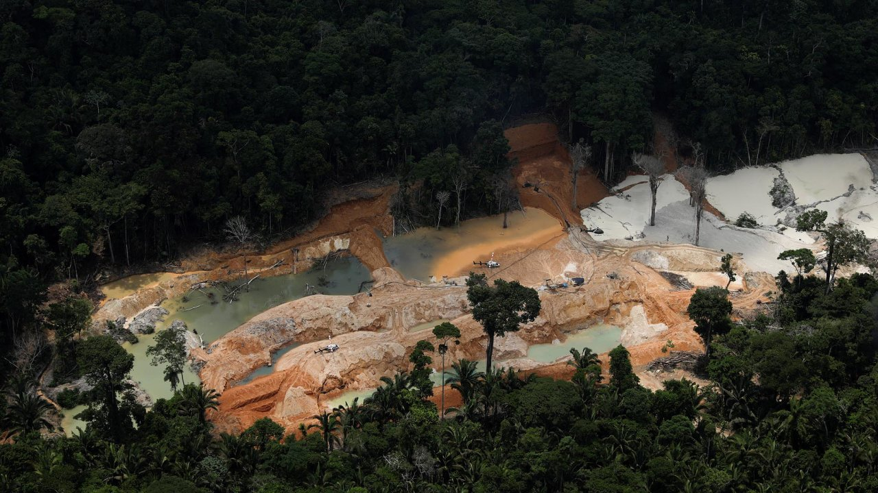 Letos se zrychlilo drancování Amazonie.
