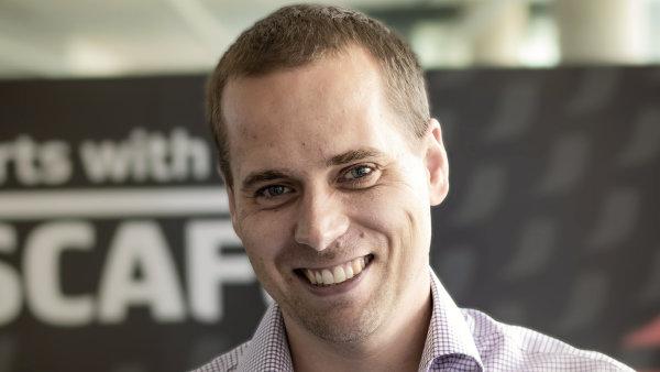 Martin Myšička, marketingový manažer Nestlé pro NESCAFÉ Dolce Gusto