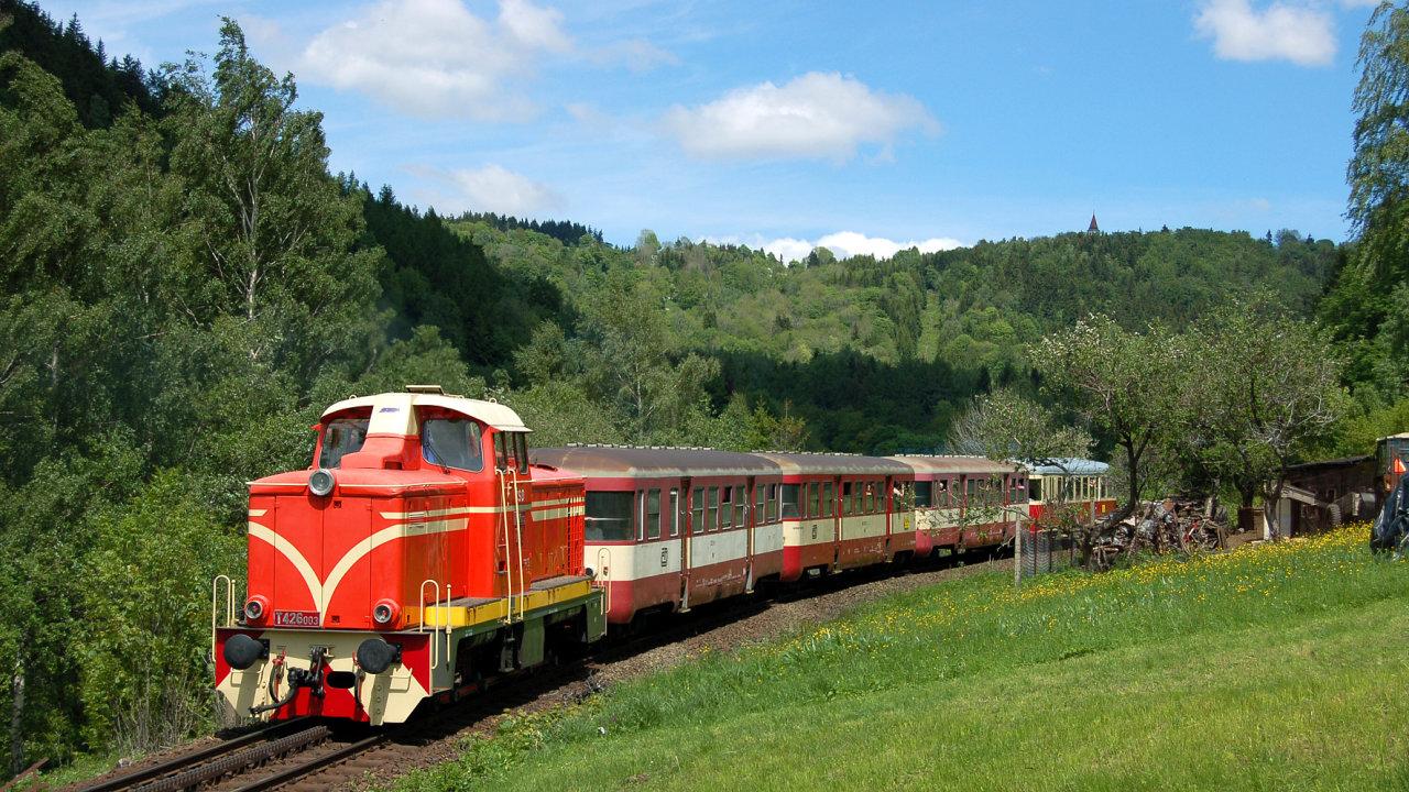 Ozubnicová trať z Tanvaldu do Harrachova