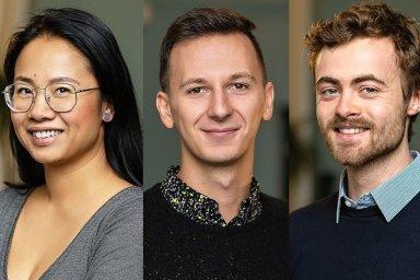 Lenka Tungová, Radovan Jankovič a William Nattrass, tým společnosti Best Communications