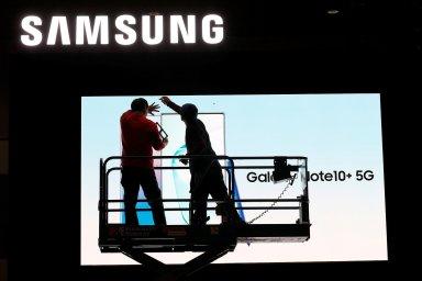 Akcie Samsungu od začátku roku asi o šest procent vzrostly. Loni zpevnily o 44 procent.