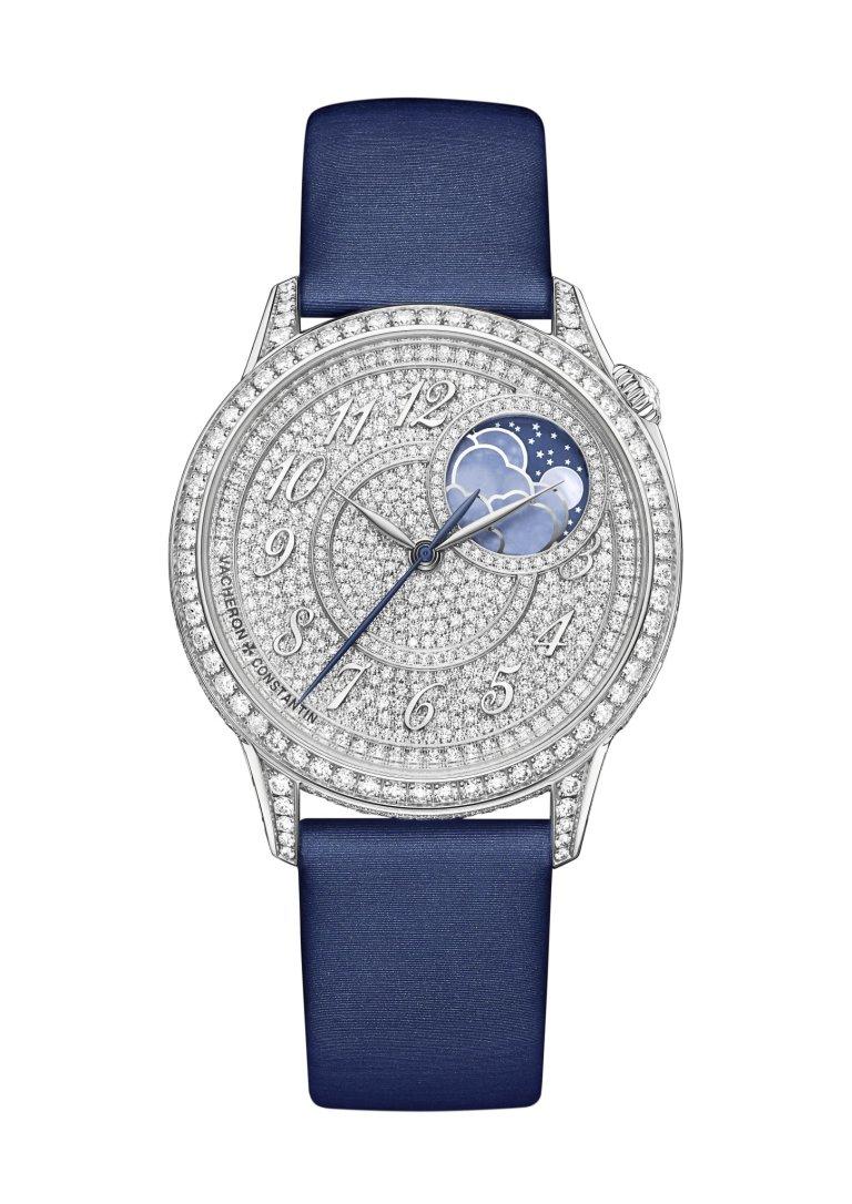 Hodinky Vacheron Constantin Égérie Moon Phase Diamond-pavé