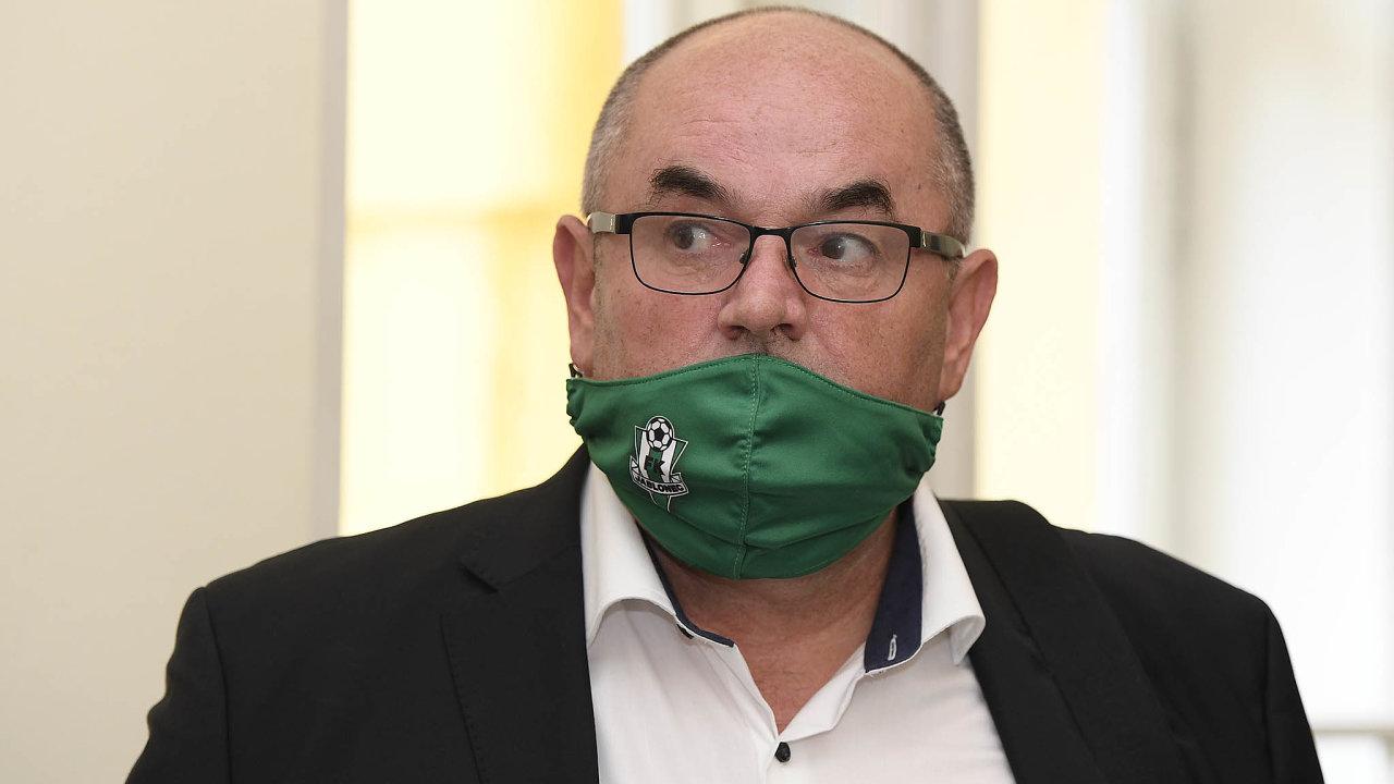 Nejviditelnější obžalovaný. Miroslav Pelta je vkauze údajného ovlivňování systému státních dotací nejvíc vidět.