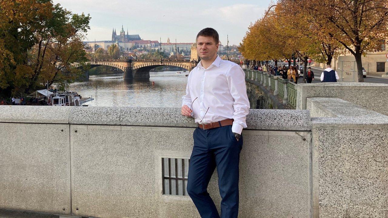 Maroš Kravec ze společnosti LitFin Capital
