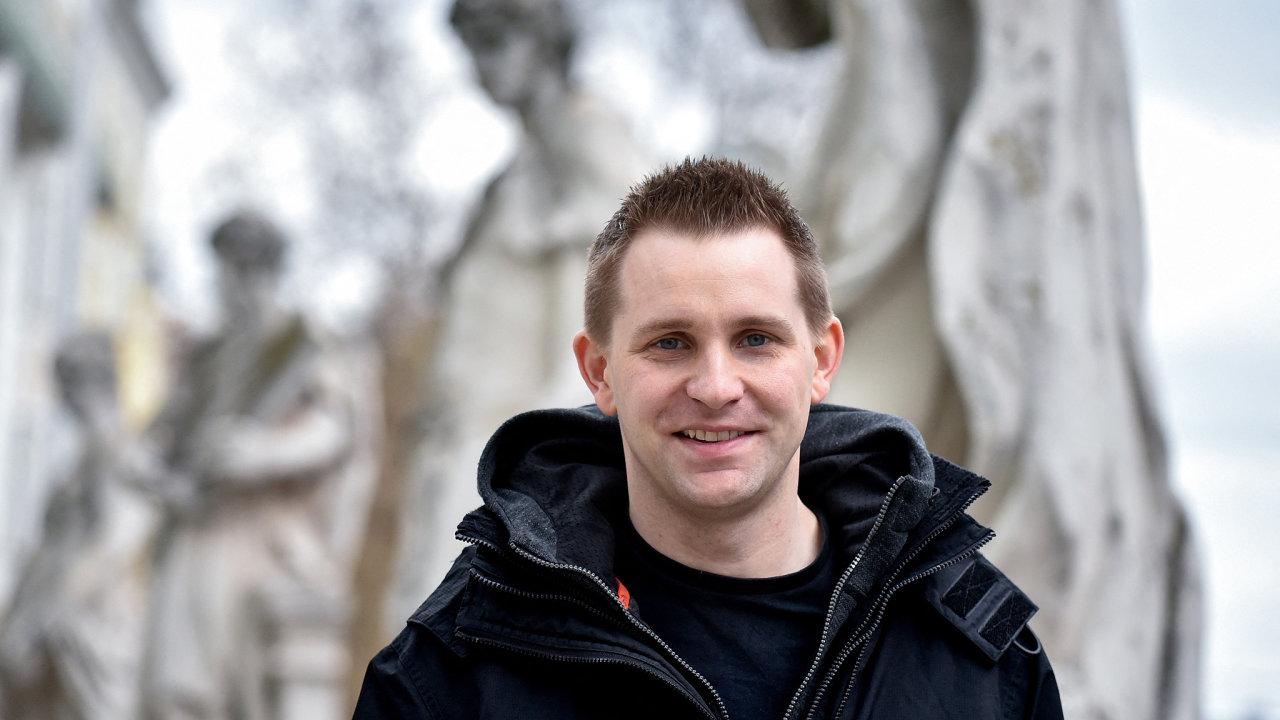 Max Schrems, rakouský aktivista, právník a autor, který upozorňuje na porušování soukromí firmou Facebook