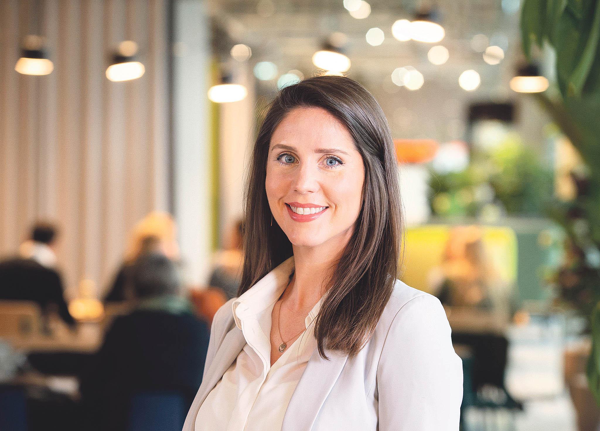 Kaitlin Crouchová, působící v ING, se udržitelnému rozvoji věnuje po celý svůj profesní život.