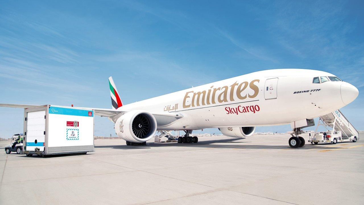 Emirates SkyCargo patří mezi přední letecké přepravce léčiv citlivě reagujících na teplotní změny, včetně vakcín covid-19.